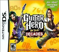 Guitar Hero On Tour: Decades (Nintendo DS, 2008)