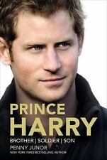 Prince Harry : Brother, Soldier, Son by Penny Junor (2014, Hardcover)