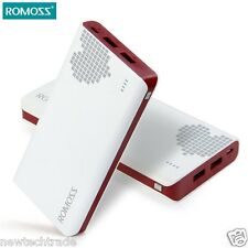 ROMOSS Sense 6 Red Portable Charger Power Bank 20000mAh For iPhone Cell Phone