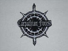 CARPATHIAN FOREST BLACK METAL IRON ON EMBROIDERED PATCH