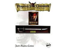 Pirates of the Caribbean Jack Sparrow CUTLASS SWORD RING BEAD Movie Prop Replica