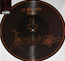 VENOM - AT WAR WITH SATAN, 2017 RECORD STORE DAY PICTURE DISC vinyl LP, NEW!