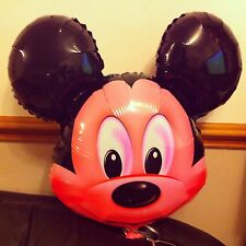 6 X Mickey mouse Helium Inflatable balloons for Kids birthday party decoration