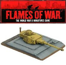 FLAMES OF WAR - PANZER IV TURRET BUNKER - GE684 - 1/100 SCALE