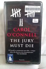 The Jury Must Die by Carol O'Connell: Unabridged Cassette Audiobook (II3)