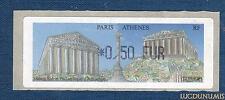 Lisa (Distributeurs (Timbres de) 0,50 EUR Paris Athenes