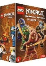 LEGO NINJAGO - SEASON 1 2 3 4 5 Box Set  -  DVD - PAL Region 2 - New