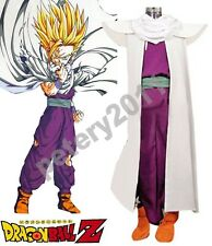 Custom-made Dragonball Z Son Gohan Super Saiyan Fighting Uniform Costume