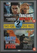 LAND OF THE FREE / TRAITOR'S HEART DVD-BOX w/WILLIAM SHATNER