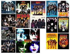 KISS (NEW) PHOTO-FRIDGE MAGNETS (15) IMAGES)
