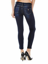 GUESS - LOS ANGELES -Power Skinny Low Rise In Circuit or Lyon wash - S 28 /34