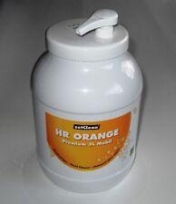6 x 3 Liter Handwaschpaste Handreiniger mit Spender PREMIUM Orange