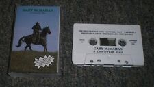 A Cowboyin' Day Gary McMahan~RARE 1992 Private Country Cowboy Yodeling Cassette