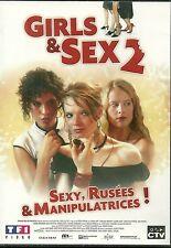 DVD - GIRLS & SEX 2 ( dans la lignée d' AMERICAN PIE ) / COMME NEUF