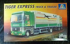 ITALERI 748 RENAULT Tiger Express Truck & Trailer modello Camion KIT SCALA 1/24