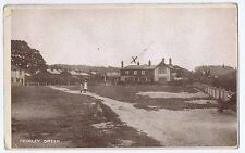 FRIMLEY GREEN View in the Village, Postally Used Postcard 1918