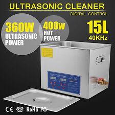 15L Digital Reinigungsgerät Ultraschallreiniger Ultraschall Reiniger Cleaner