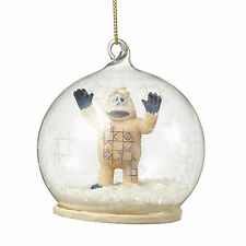 Jim Shore*BUMBLE GLASS DOME ORNAMENT*New 2016*Rudolph Red Nosed Reindeer*4053081