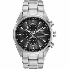 Citizen Eco-Drive Atomic AT Perpetual Chrono Sapphire Men's Watch AT8010-58E