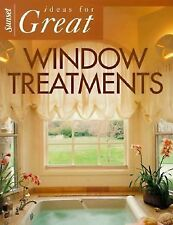 Ideas for Great Window Treatments (Sunset Home Improvement Book), Sunset Books,