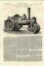 1895 Improved Compound Road Roller 10 Ton Burrell