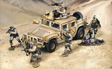 THE COLLECTORS SHOWCASE MODERN WARFARE U.S. MARINE COMPLETE SET MIB