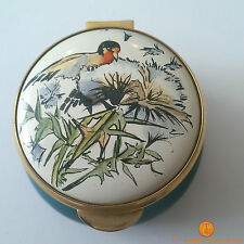 Staffordshire Enamels Pill / Trinket Box Country Diary of an Edwardian Lady