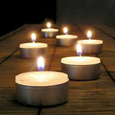 40 x Long Burn 8-9 Hours Tea Lights Lasting Candles Nightlight DEEP SMALL