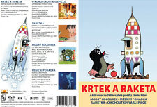 Little Mole and the Rocket (Krtek a raketa) DVD +rare Zdenek Miler shorts new