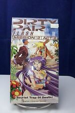 NEW SEALED DIRTY PAIR FLASH MISSION 2 ACT 2 ANIME VHS TAPE