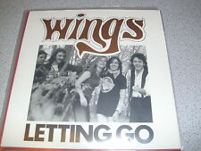 "Wings - Letting Go - 7"" Single Vinyl // Neu"
