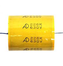 2pc MPT Metallized Polypropylene Film Capacitor 22uF 630V K ±10% Tube Amp 300B