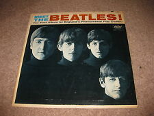 "The Beatles ""Meet The Beatles"" LP Capitol Mono 1964"