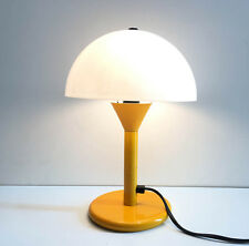 SUPERBE  Lampe Vintage des années 1970 orange champignon