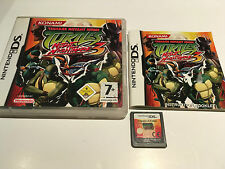 Teenage Mutant Ninja Turtles 3 Mutant Nightmare for Nintendo DS / DSi 2005 Game