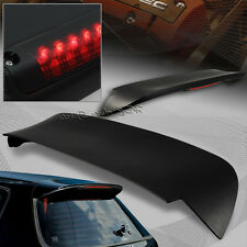 For Honda Civic 3DR / Hatchback ABS Spoon Roof Spoiler Wing W / LED Brake Light