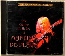 The Guitar Artistry of Manitas de Plata CD Latin Guitar Flamenco Gypsy Theme