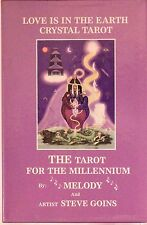 Love is in the Earth Crystal Tarot by Melody, 79-card deck+ hardcover guidebook