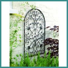 Spanish Wall Art Arch Metal Decor Antique Rust Scrolled Garden Outdoor Patio New