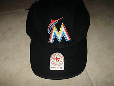 MARLINS    HAT   NEW WITH TAGS    BUCKLE BACK