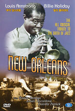New Orleans - Louis Armstrong Billie Holliday - Jazz Musical Film DVD (NEW)