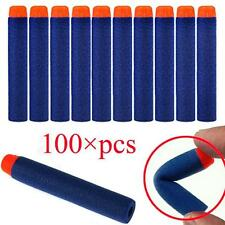 100pcs Toy Gun Recharge Dart Bullet for Nerf N-Strike Elite Series Blasters EH