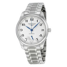Longines Master Collection Silver Dial Stainless Steel Mens Watch L26664786