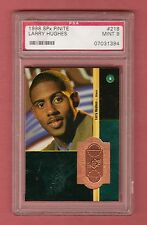 LARRY HUGHES 1998-99 SPX FINITE RC ROOKIE # / 2500 PSA 9 MINT PHILADELPHIA 76ers