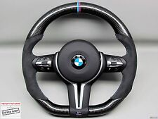 BMW F80 M3 F82 M4 F15 X5M F16 X6M M Ring Flat Bottom Thick CARBON Steering WHEEL