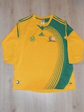 SOUTH AFRICA NATIONAL TEAM 2008 / 2009 FOOTBALL SHIRT JERSEY HOME ADIDAS SIZE L