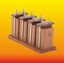 4 x 4 uF 1000 V PACKET RUSSIAN PAPER IN OIL PIO AUDIO CAPACITORS KBG-MN КБГ-МН