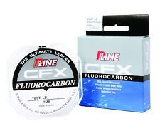 New P-Line CFX Fluorocarbon Leader Material 25 Meter 30lb Clear P25FC-30
