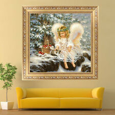 DIY 5D Diamond Painting Little Angel Embroidery Cross Stitch Home Decor Crafts