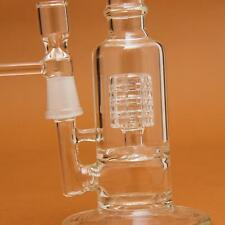 20CM Glass Water Pipe Percolator Glass Bong With Bowl 14.5MM Joint. With 4 Bowls